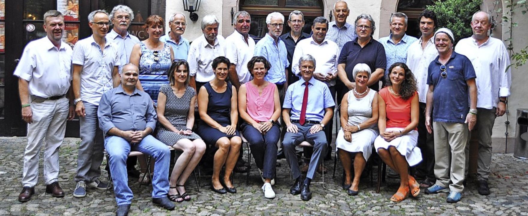 Gewählt für fünf Jahre: der neue Staufener Gemeinderat   | Foto: Rainer Ruther