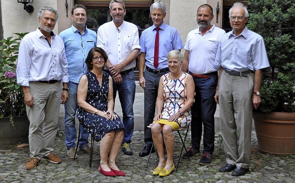 Nicht mehr im Rat (von links): Michael... Nicht im Bild: Edith Wiesen-Emmerich.  | Foto: Rainer Ruther