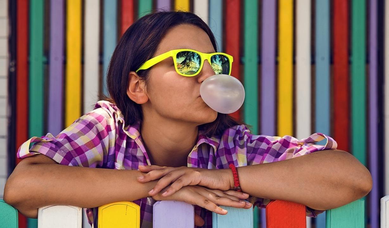 Besonders bei Kinder beliebt: Kaugummi die sich zu Ballons aufblasen lassen.   | Foto: zphoto83 - stock.adobe.com