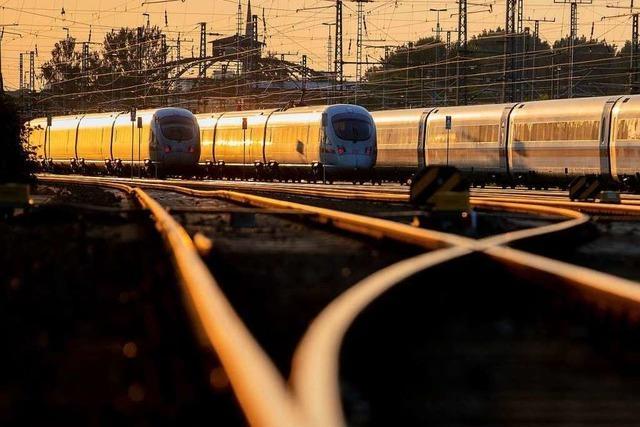 Bahn und Bund einigen sich auf 86 Milliarden Euro für den Erhalt des Schienennetzes