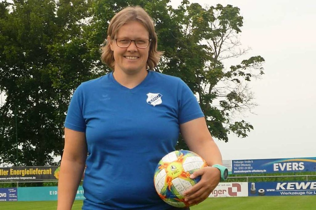 Claudia von Lanken ist  Geschäftsstellenleiterin des  SC Sand.  | Foto: Felicitas Rohrer
