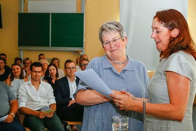 Schulleiterin Maria Gut in Grafenhausen in den Ruhestand verabschiedet