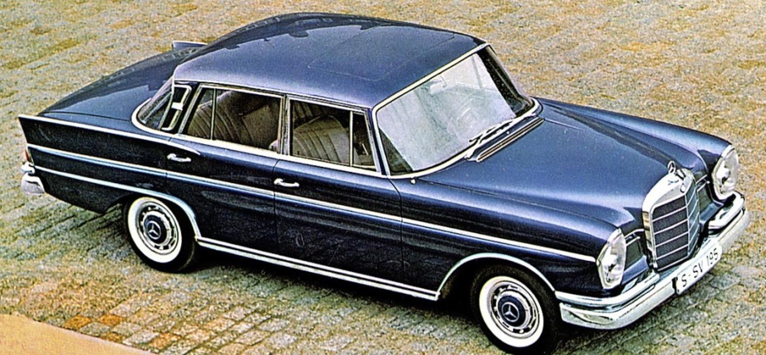 Futuristisch, extrem und gut bürgerlic...o sowie beim Mercedes 300 SE von 1961   | Foto: Werk