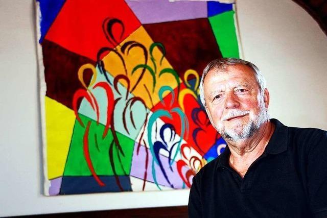Hans-Jürgen Erb ist Bauberater und Künstler