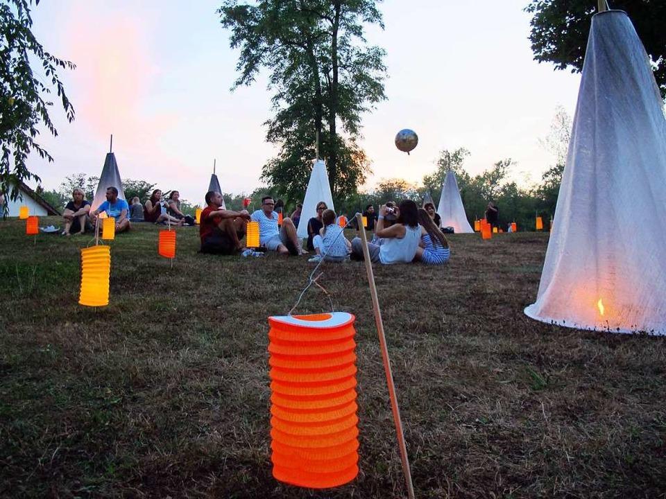 In Bad Bellinger Kurpark findet am Samstag das Lichterfest statt.  | Foto: Jutta Schütz