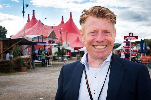 ZMF-Veranstalter Marc Oßwald stellt sich dem BZ-Fragenwirbel