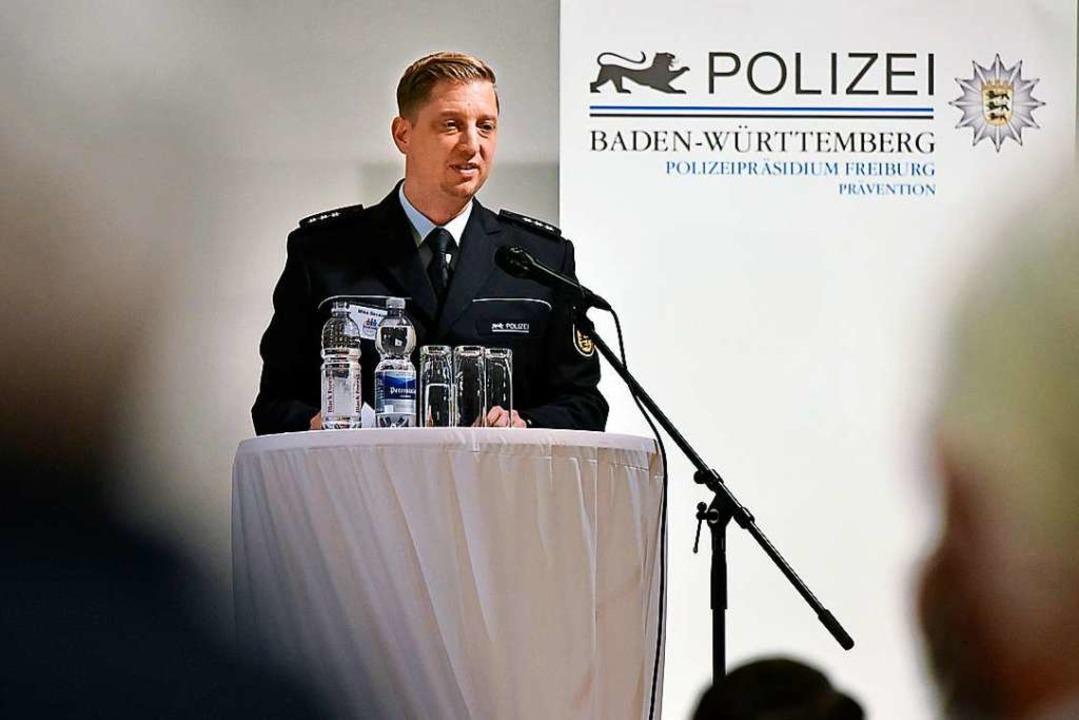 Bei den Bürgerdialogen stellt die Poli...itskonferenz in Herdern im März 2019).  | Foto: Michael Bamberger