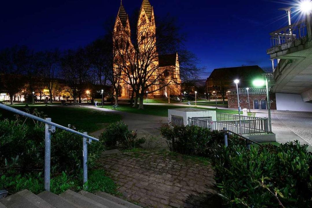 Der Stühlinger Kirchplatz gilt  als Kriminalitätsbrennpunkt.  | Foto: Thomas Kunz