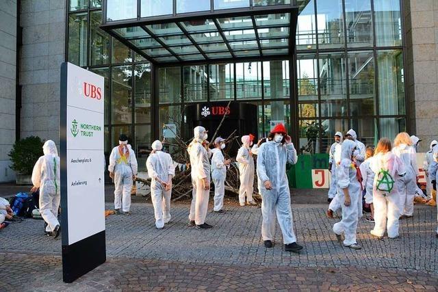 Lörracher bekommt nach Klimaprotest in Basel fünf Monate auf Bewährung