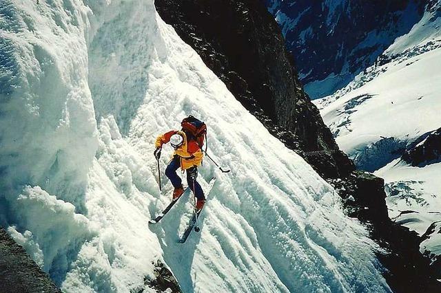 André Anzévui fuhr vor 30 Jahren auf Skiern das Matterhorn hinunter