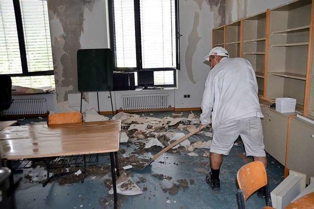 Wasserschaden in der Oststadtschule: Jugendliche Täter erwischt