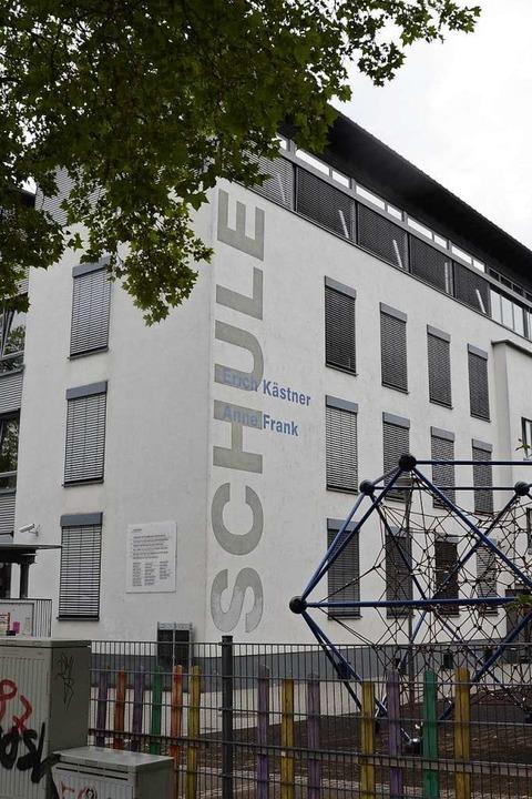 In der Oststadtschule sind die Erich-K... die Anne-Frank-Schule untergebracht.     Foto: hrö