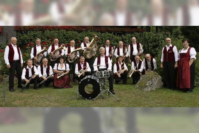 Aubachtal Musikanten geben Konzert in Grafenhausen-Rothaus