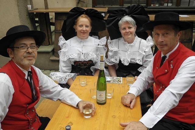 Mittelbergheim feiert ein Fest rund um die Rebsorte Sylvaner