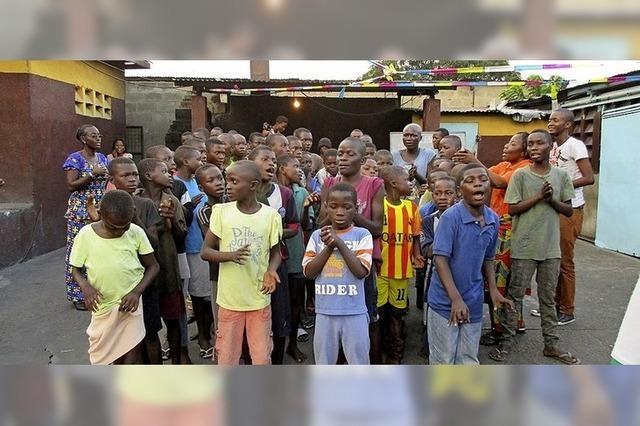 Hilfe für Kinder in Kinshasa