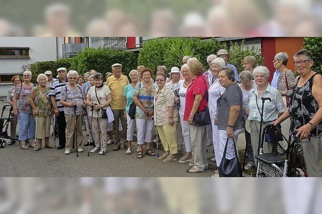 Senioren dürfen auf der Nordwestumfahrung fahren