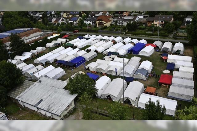 Zeltlager statt Festbankett