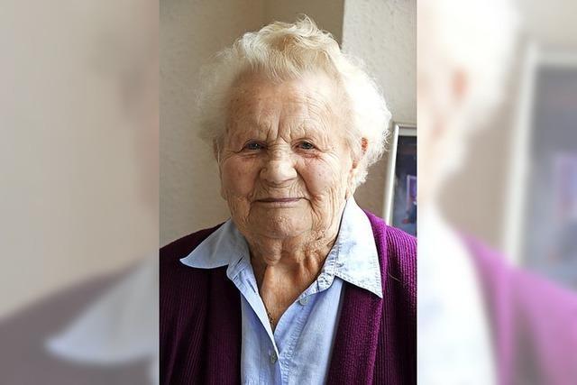 Kartoffeln halten sie gesund: Die älteste Bonndorferin wird 100