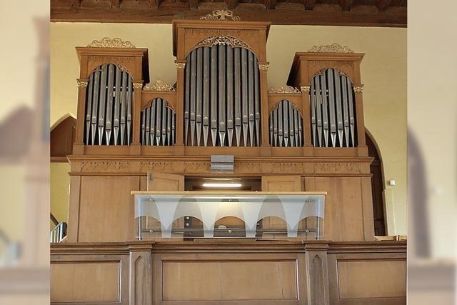 Damit die Orgel nicht mehr schnauft