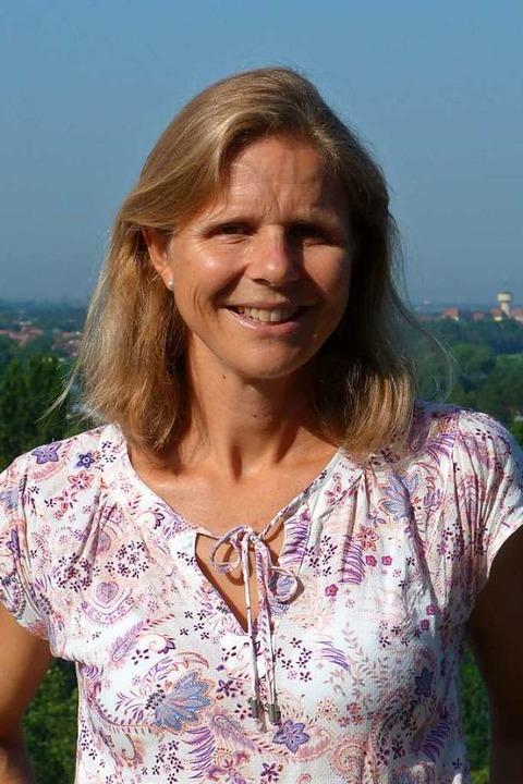Tanja Ott, Konrektorin am Theresianum, hat den Sponsorenlauf organisiert.  | Foto: Christine Weirich