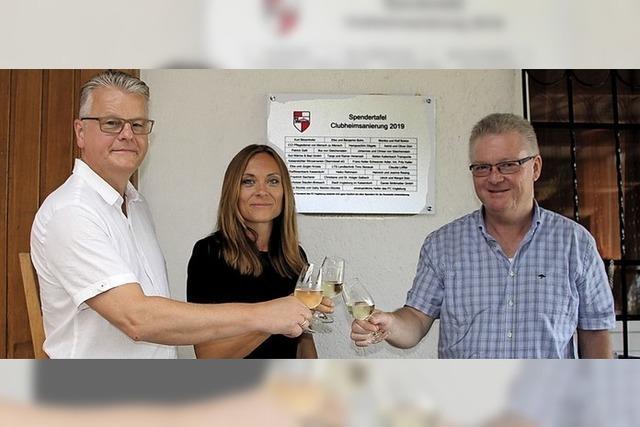 Clubheim des FC Vogtsburg kann sich sehen lassen