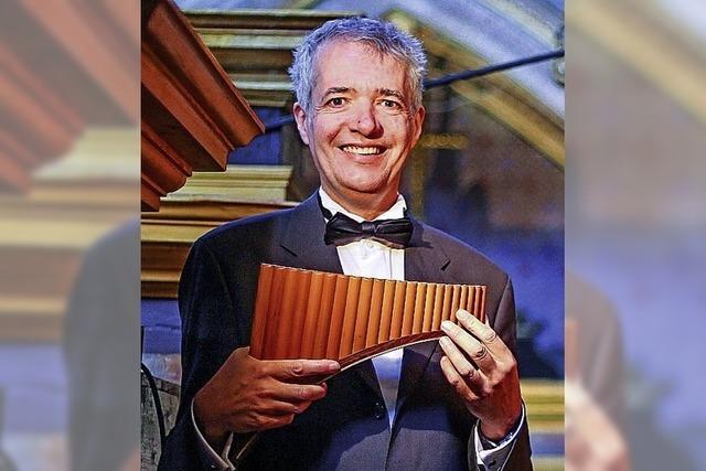 Panflöte und Orgel erklingen zusammen auf den Internationalen Orgeltagen