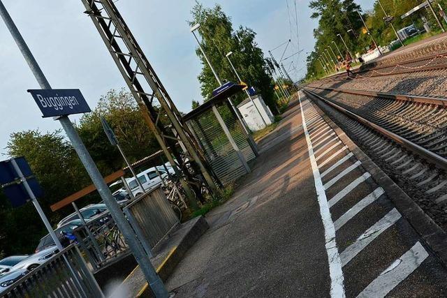 Züge Richtung Süden halten ab Montag nicht in mehr Buggingen