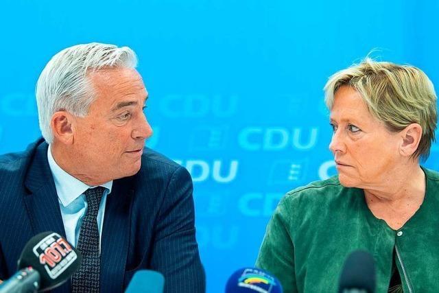 Die CDU in Baden-Württemberg steht vor dem Stabwechsel