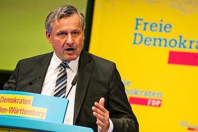 FDP-Fraktionschef Rülke:
