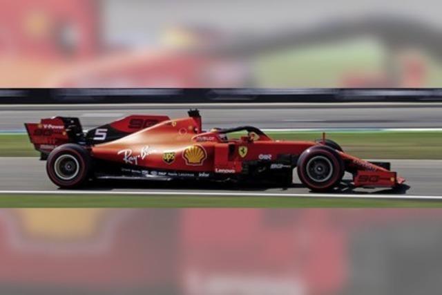 Sebastian Vettel macht seinen Fans Hoffnung
