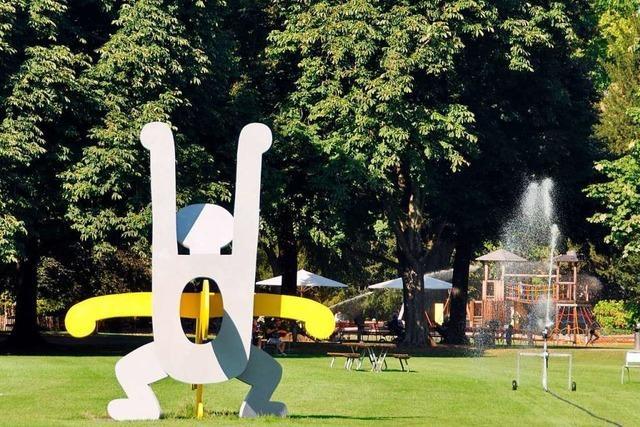 Die Basler Stadtgärtnerei warnt vor abbrechenden Ästen in Parks