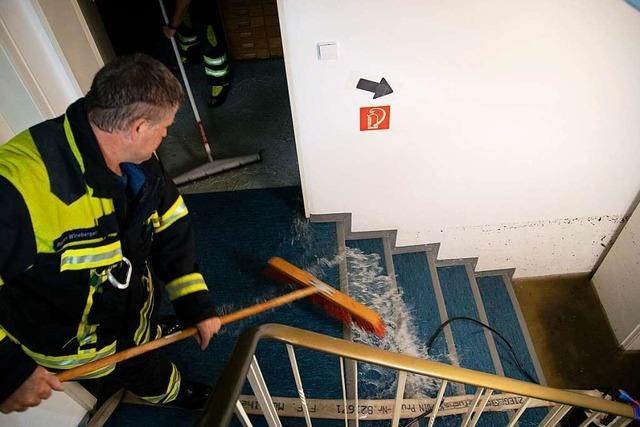 Feuerwehr musste mehr als 200 Mal im Markgräflerland ausrücken