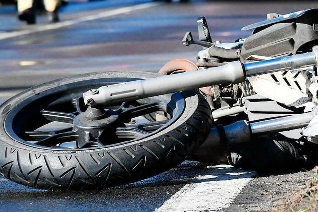 Motorradfahrer stirbt bei Unfall bei Lenzkirch