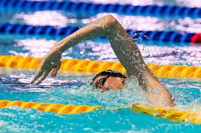 Schwimmer Florian Wellbrock gewinnt Freistil-Gold bei der WM