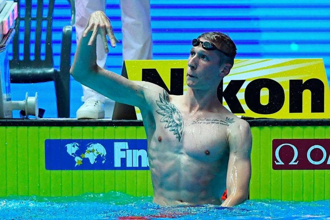 Florian Wellbrock    Foto: MANAN VATSYAYANA (AFP)