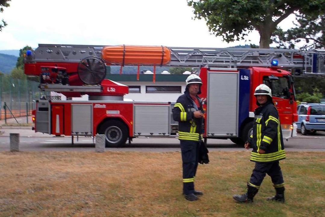 Feuerwehreinsatz in Denzlingen  | Foto: Feuerwehr