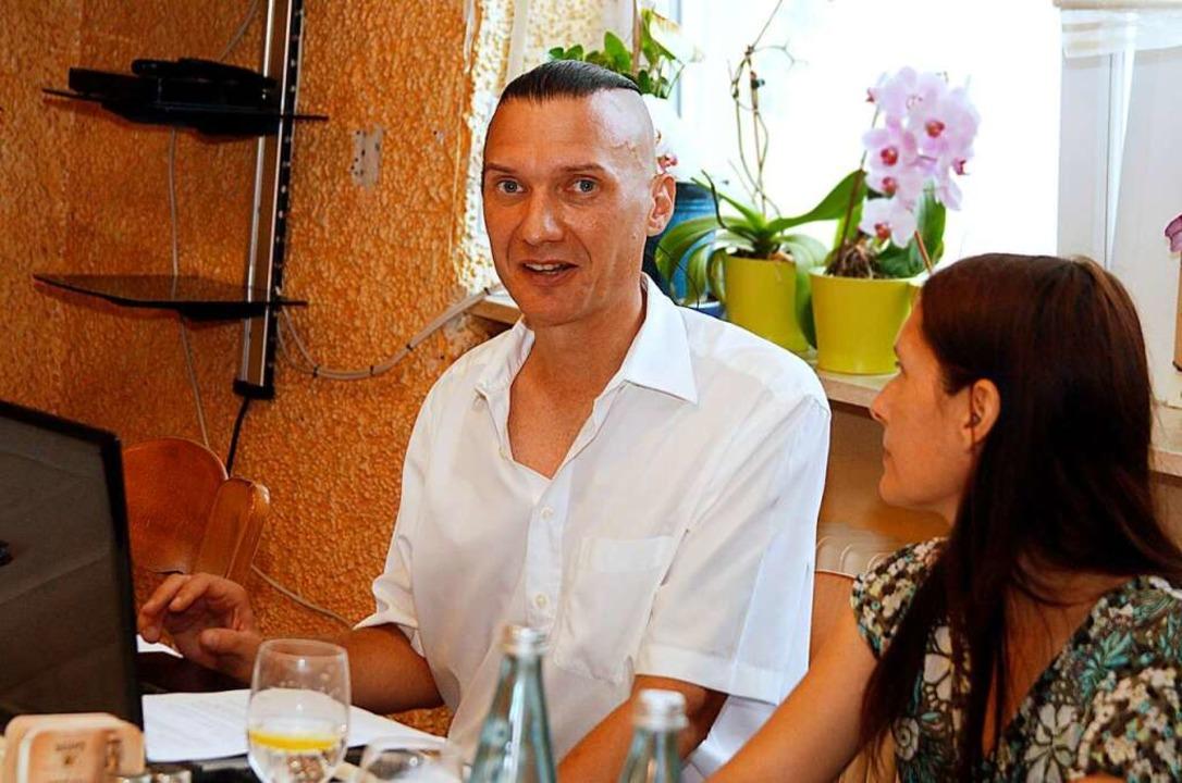 Jürgen Durke bei der Programmvorstellung  | Foto: Heidi Fößel