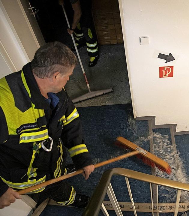 Viele Häuser waren von den Wassermassen betroffen  | Foto: Volker Münch
