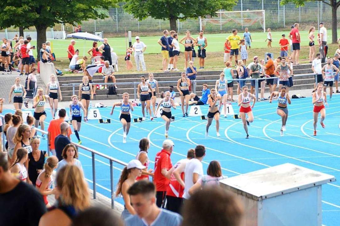 Die Athleten durften sich über viel Un...tzung der Zuschauer und Helfer freuen.  | Foto: Horatio Gollin