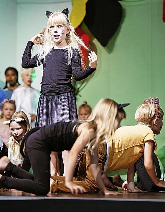 Szene aus dem Musical  | Foto: Peter Hecking