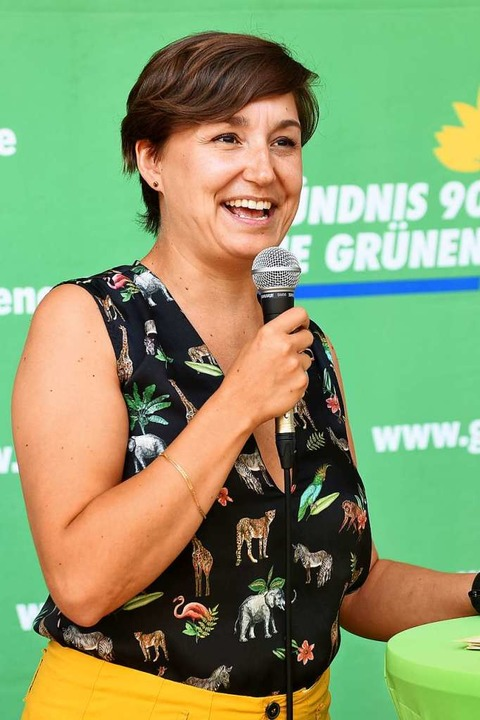 Landesvorsitzende Sandra Detzerr  | Foto: Rita Eggstein