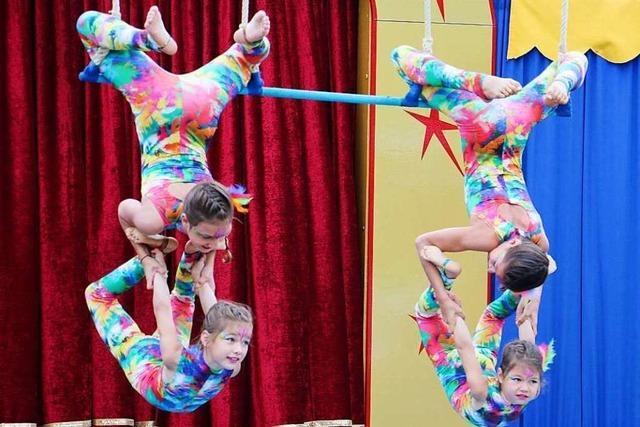 Circus Paletti begeistert mit schwungvoller Artistik in Forchheim