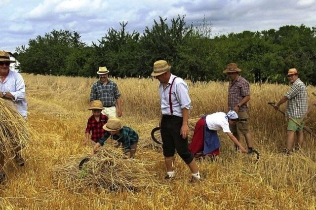 Arbeiten, wie es einst die Vorfahren taten
