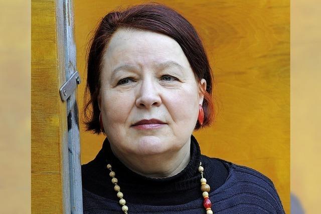 Autorin Natascha Wodin im Theater im Hof in Kandern-Riedlingen mit