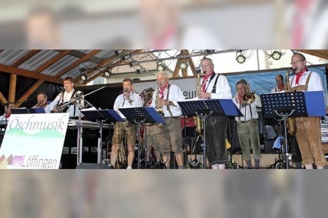 Bürgerfest mit viel Musik