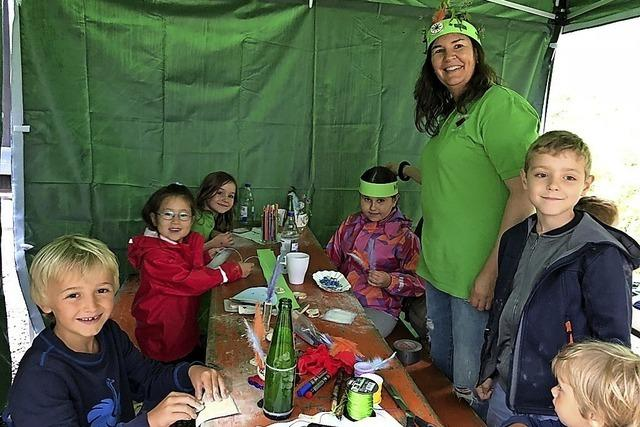 Familientag auf der Lahrer Hütte