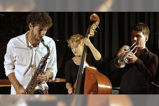 Start mit aufregendem jungem Jazz