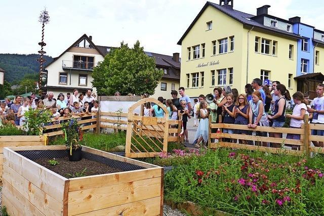 Schulgarten in Oberried