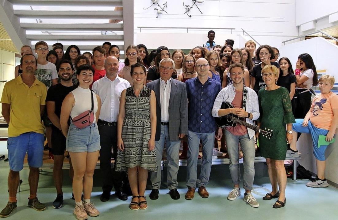 Alle Beteiligten und Verantwortlichen, die das Projekt ermöglicht haben  | Foto: Veranstalter