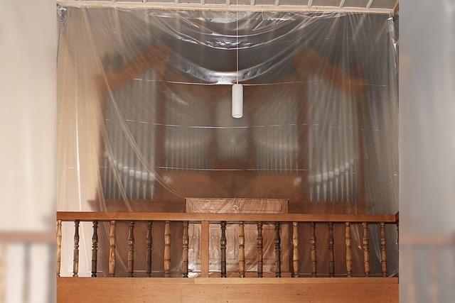 16 Grad zum Schutz der Orgel